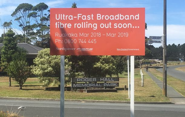 Northpower Fibres Ufb Network At Ruakaka Is Complete Six Months Ahead Of Schedule